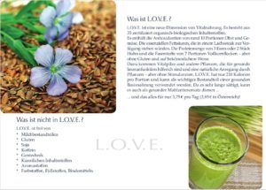 L.O.V.E. - Beschreibung eines Platinum Superfoods