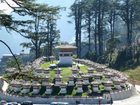 Bhutan das Land des Bruttonationalglücks